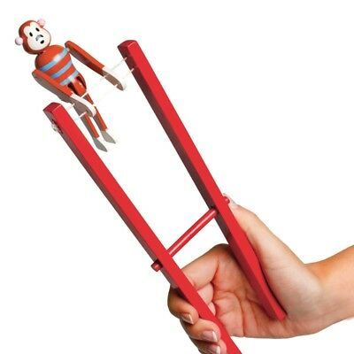 Trapeze Monkey- Fun Wooden Traditional Toy