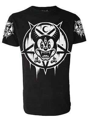 MICKEY 666 T-Shirt Darkside Occult Collection sizes S - 2XL /Goth, Wiccan, Rock