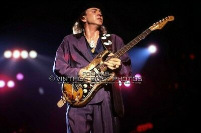 Stevie Ray Vaughan 20x30 inch Poster Photo Live Concert March '88 Akron, OH L36