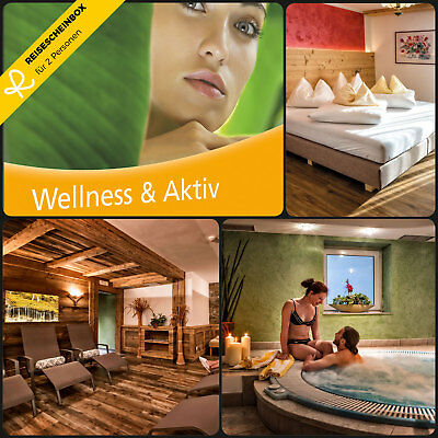 3 Day Wellness & Active for 2 in over 100 Hotels Short Travel Voucher Holiday