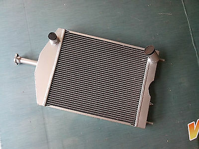 Ford 8N tractor w/ 6 cylinder Funk Conversion Custom Aluminum Radiator 56MM 2Row