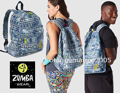 Zumba Fitness Fab Tote Bag Gym-Stylish Hip Elegant Rare-Great Gift-fr.Convention