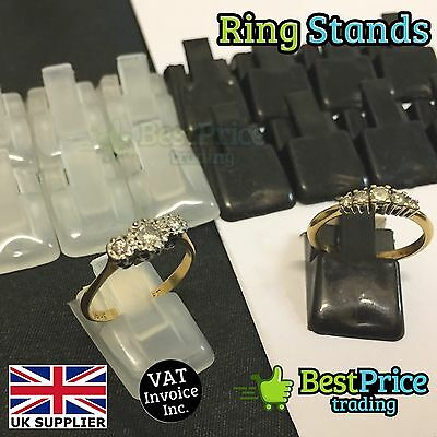 Single Ring Bangle Retail Jewellery Display Plastic Stand Holder 2 10 50 100 200