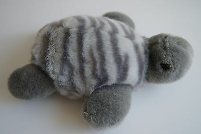 "10.5""  Circus Circus Las Vegas Reno Turtle Plush Stuffed Animal Toy Gray"