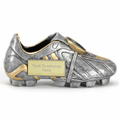 Football Boot Trophy 12.5cm Award Gold, Silver ENGRAVED FREE