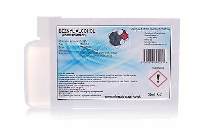 30ml Benzyl alcohol-cosmetic grade•99,98%pure•Fragrance•preservative•disolvent•