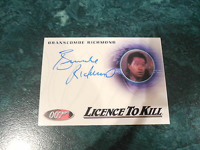 James Bond Archives 2014 Edition - Branscombe Richmond Autograph A236