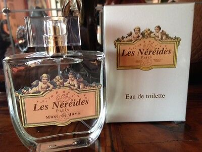 Rare! Discontinued Les Nereides Musc de Java 100ml EDT