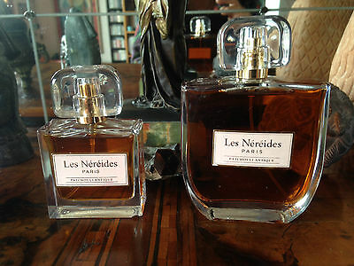 Bargain! Lot Les Nereides Patchouli Antique EDT 100+30ml