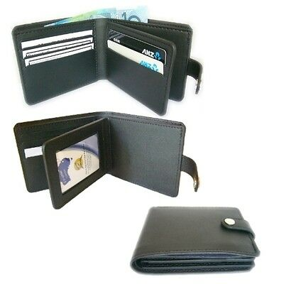 Badge Wallet, 8 Card - with Full Length Cash Section - NEW - No Badge