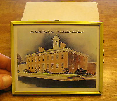 4 - 1970 The Franklin County Jail, Chambersburg PA, Picture/Calendar