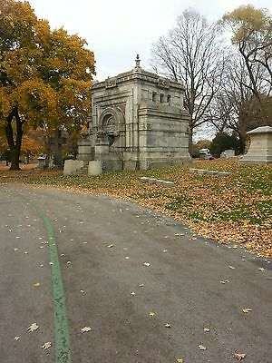 Estate Lot in Forest Home Cemetery (Lot No. 415, graves 1 - 8, in Sect. 37)