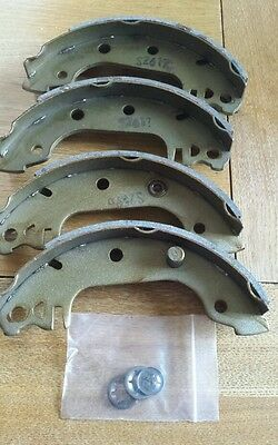 REAR BRAKE SHOES SET of 4  for FORD FIESTA mk 1 - 1976-1983 178mm