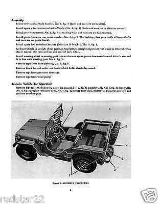 M38A1 4X4 JEEP Military Manual HUGE SET  TM & ORD Parts List on CD in .pdf
