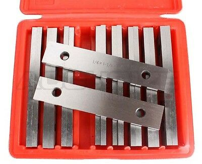 "1/4"" 9-Pair Precision Parallel Set, 6"" Length in Box, HRC 52-58, #EG10-1432"