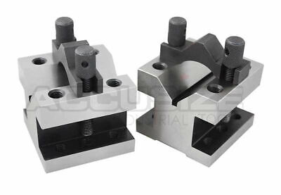 4-1/8'' x 4-1/8'' Ultra Precision V-Block & Clamp Set in Fitted Box, #EG10-9013