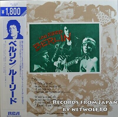 Lou Reed - Berlin - LP - Japan Press with OBI
