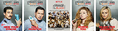 Orange is The New Black Poster Set - A4 A3 A2 Sets Available