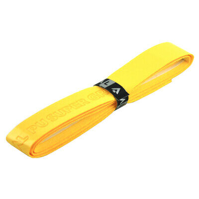 Karakal Super PU Replacement Grips Yellow - Tennis - Squash - Badminton