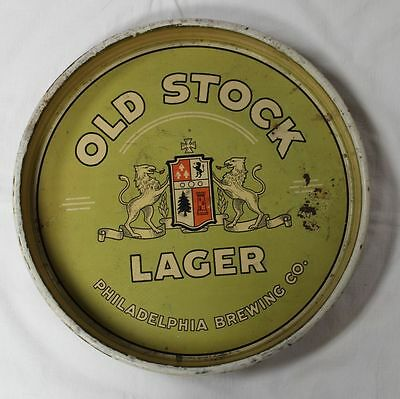 Philadelphia Brewing Co., Old Stock Lager Beer Tray