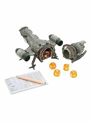 FIREFLY Collector's Edition YAHTZEE Game w/ SERENITY Spaceship Cup  LTD  SHINY!