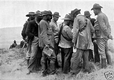 Boer Generals 1900 Second Anglo Boer War 7x5 inch Reprint Photo