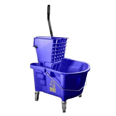 MOP BUCKET & WRINGER Heavy Duty Continental 226-312BL Commercial Blue 36127
