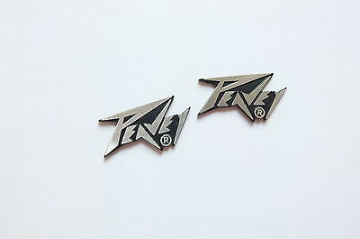2 x PEAVEY Mini Logo Badge