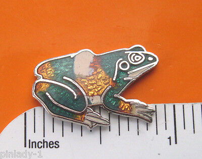 FROG  -   hat pin , lapel pin , tie tac  , hatpin  GIFT BOXED