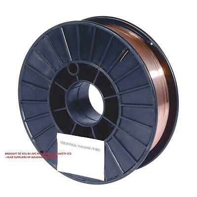 Mild Steel Mig Welding Wire All Sizes of Reel and Wire - Hobby 0.7kg, 5kg, 15kg