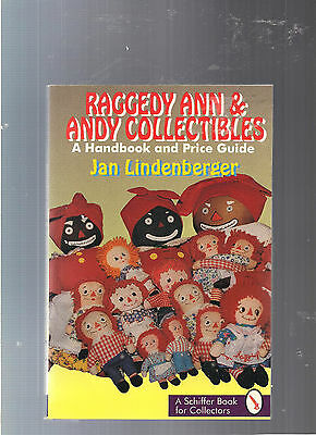 RAGGEDY ANN AND ANDY COLLECTIBLES BOOK JAN LINDENBERGER