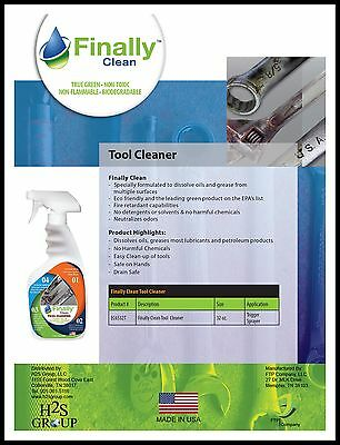 Finally Clean Tool Cleaner