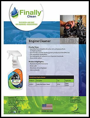 Finally Clean Engine Cleaner