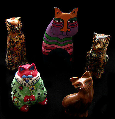Huge Lot of Cat Statues, Figurines and Knicknacks Must See!!