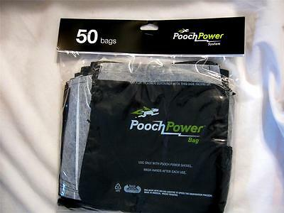 Pooch Power Bag 50 Count Disposable Pet Waste Bags New