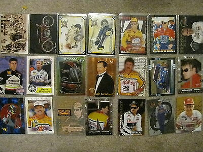 prototype promo 109 cards. Nascar, wwe, stars, chromium, holo, chase preview