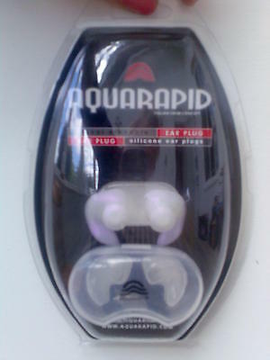 Aquarapid Soft Silicone Hypo Allergenic Ear Plugs For Swimming /swimmer