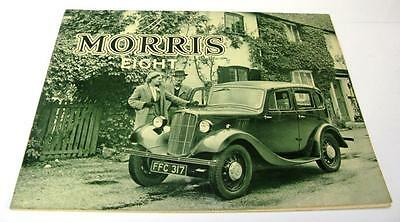 MORRIS EIGHT SERIES II RANGE - Car Brochure - Aug 1937 - #5346-11/37/100M