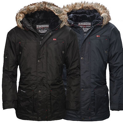 winterjacke geographical norway atlas herren winter s jacke parka parker warm eur 55 01. Black Bedroom Furniture Sets. Home Design Ideas