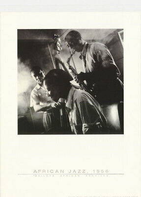 POSTER: MUSIC : AFRICAN JAZZ 1956 by J. SCHADEBURG - FREE SHIPPING !  RC46 F-L