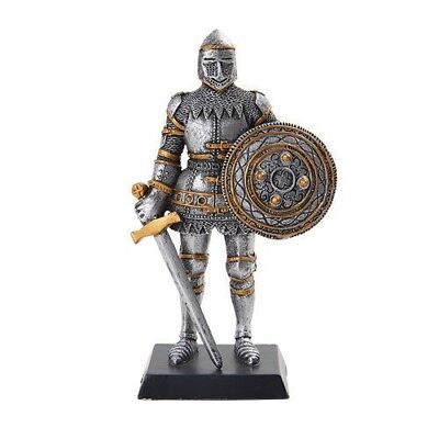 "Elite Guard Statue Medieval Knight of Valor Elite Unit 5""H Figurine Miniature"