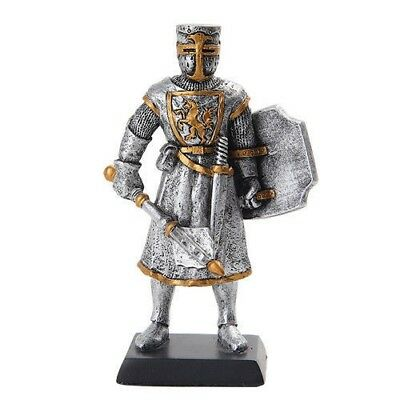 "Elite Guard Statue Medieval Knight of Valor Mace Unit 5""H Figurine Miniature"