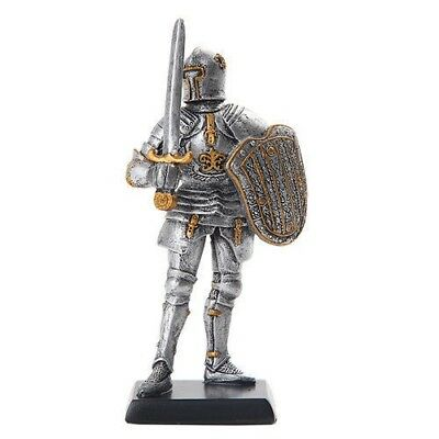 "Elite Guard Statue Medieval Knight of Valor Guard Royal 5""H Figurine Miniature"