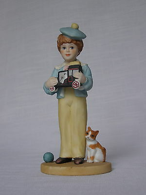 Jan Hagara Jeff Porcelain Figurine Limited Edition 1987 #1280