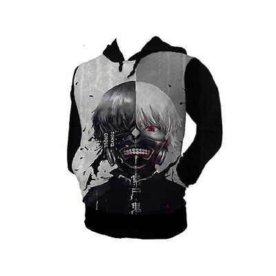 2014 Unisex Anime Tokyo ghouls Clothing Cosplay Sweater Hoodie cotton