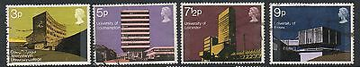 GB 1971 Architecture fine used set stamps