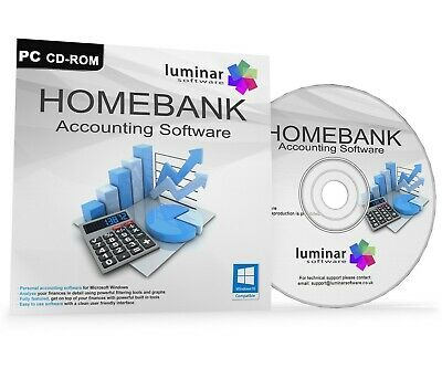 Personal Home Accounting Finance Software Accounts CD - BOXED AS SHOWN!