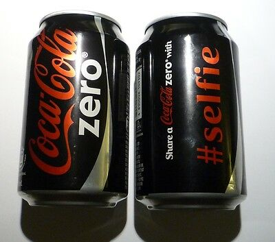 COCA COLA ZERO can HONG KONG Share for Year CELEBRATION Collect Asia 2018