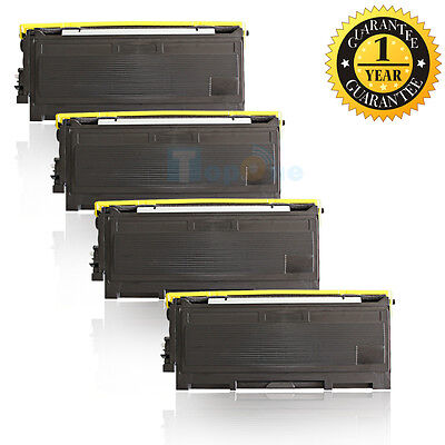 4PK TN350 Toner for Brother DCP-7020 HL-2040N HL-2070N Fax 2820 MFC-7220 7820N