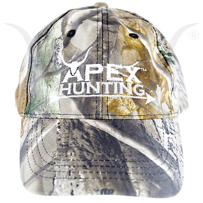 New Apex Hunting Adjustable Camo Hat Cap For Hunting And Archery